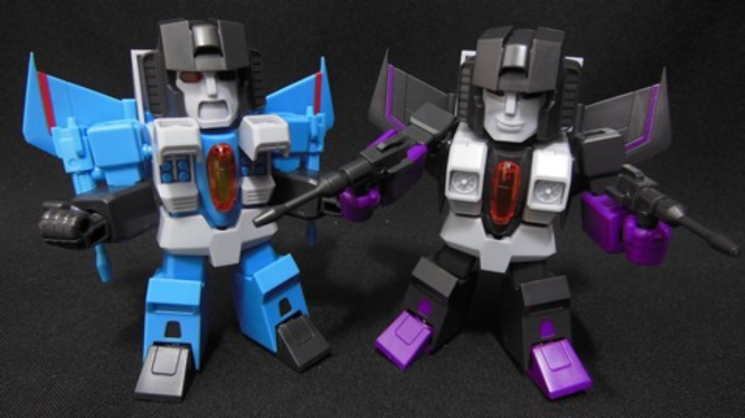 Skywarp & Thundercracker (D-Style) by Kotobukiya