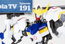Gunpla TV – Episode 191 – IBO HGs and 1/100 Barbatos!