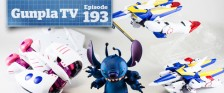 Gunpla TV – Episode 193 – MG V2, 1/100 Graze, RG Wing EW Reviews – Kaiyodo's Stitch!