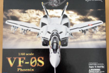 1/60 Macross Zero VF-0S Phoenix Transformable by Arcadia (Part 1: Unbox)