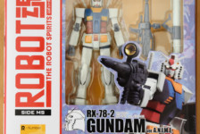 Robot Damashii RX-78-2 Gundam ver. A.N.I.M.E. by Bandai (Part 1: Unbox)