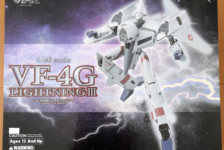 1/60 VF-4G Lightning III Transformable (Macross Digital Mission VF-X) by Arcadia (Part 1: Unbox)