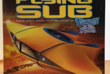 1/32 Flying Sub (Renewal Ver.) by Moebius – Part One – Unboxing
