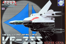 1/60 VF-2SS Valkyrie II Silvie Gena Custom by Evolution Toy (Part 1: Unbox)