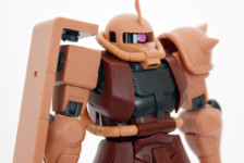 Robot Damashii MS-06S Char Zaku ver. A.N.I.M.E. by Bandai (Part 2: Review)