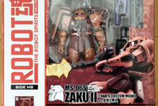 Robot Damashii MS-06S Char Zaku ver. A.N.I.M.E. by Bandai (Part 1: Unbox)