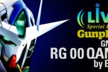 Gunpla TV Live Event – 1/144 RG GNT-0000 00 QAN[T] by Bandai
