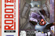 Robot Damashii MS-09 Dom ver. A.N.I.M.E. by Bandai (Part 1: Unbox)