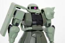 Robot Damashii MS-06 Zaku II ver. A.N.I.M.E. by Bandai (Part 2: Review)