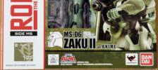 Robot Damashii MS-06 Zaku II ver. A.N.I.M.E. by Bandai (Part 1: Unbox)