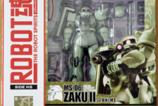 Robot Damashii MS-06 Zaku II ver. A.N.I.M.E. by Bandai (Part 1: Unbox)
