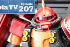 Gunpla TV – Episode 207 – Psycho Zaku and Denim/Slender – New kits!