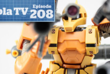Gunpla TV – Episode 208 – 1/100 Graze Kai – Thunderbolt Zaku I!