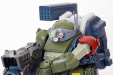 Gagan Gun Votoms Scopedog Model Red Shoulder Custom by Takara Tomy (Part 2: Review)