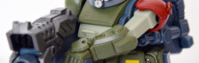 Gagan Gun Votoms Scopedog Model Red Shoulder Custom by Takara Tomy (Part 2: Review)