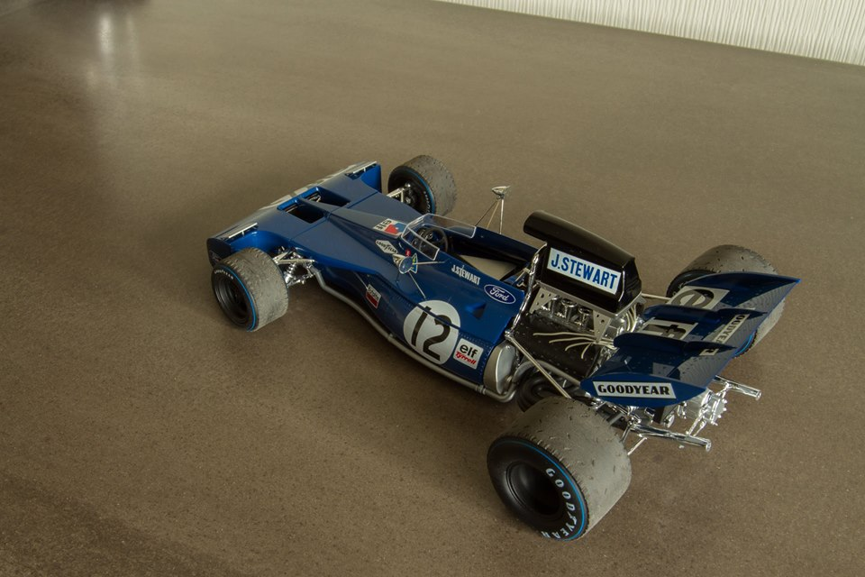 1/20 Ebbro Tyrrell 002 - British Grand Prix 1971 - HobbyLink tv