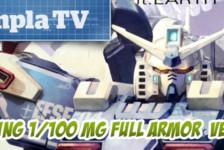 Gunpla TV Special – MG Full Armor Gundam Ver.Ka (GUNDAM THUNDERBOLT Ver.) Unboxing!