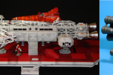 Space:1999 Eagle 1B Resin Cast Kit by Fast Forward Models – Part Two – Review