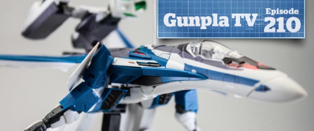 Gunpla TV – Episode 210 – 1/72 Macross Delta VF-31J Siegfried (Hayate Immelman)!