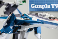 Gunpla TV – Episode 210 – 1/72 Macross Delta VF-31J Siegfried (Hayate Immelman)!