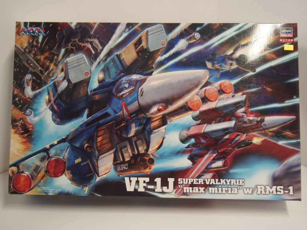 1/48 Hasegawa Macross VF-1J (Max/Myria) Super Valkyrie – Part One – Unboxing