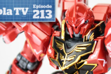Gunpla TV – Episode 213 – RG Sinanju Review! SD Ex Standard!