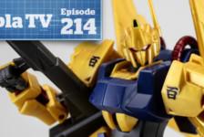 Gunpla TV – Episode 214 – Revive Hyakushiki – MG Full Armor Gundam Ver Ka!