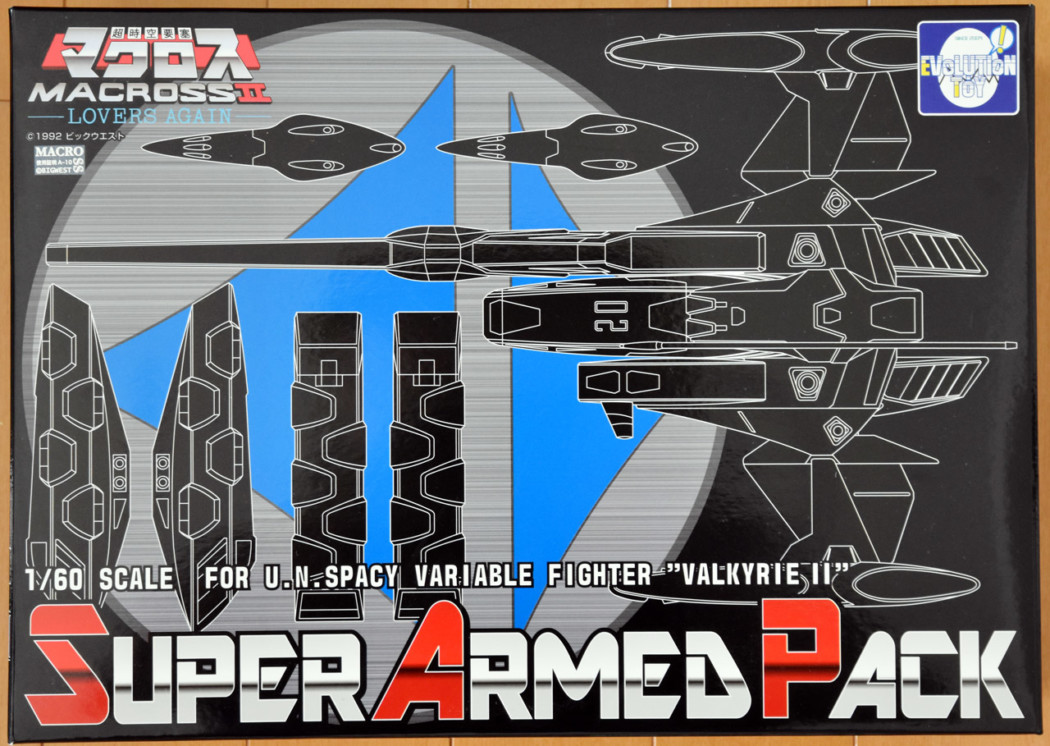 1/60 VF-2SS Valkyrie II Super Armed Pack (SAP) by Evolution Toy (Part 1: Unbox)