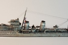 1/700 British E Class Destroyer by Tamiya Review