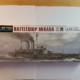 1/700 Battleship Mikasa, Hasegawa no.151 Unboxing