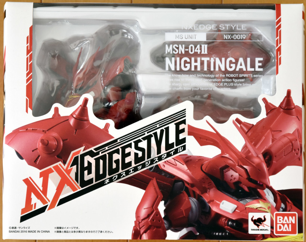 NX EDGE STYLE Nightingale by Bandai (Part 1: Unbox)