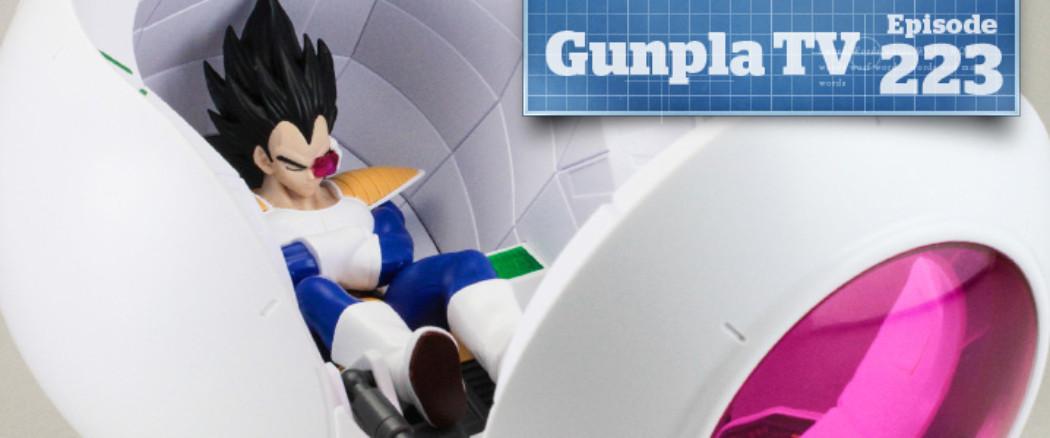 Gunpla TV – Episode 223 – Super Saiyan Space Pod – Chopper Robo Super!