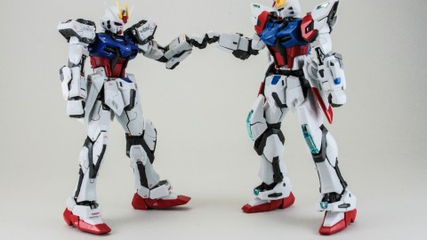 1-144 RG GAT-X105B - FP Build Strike Gundam Full Package-2