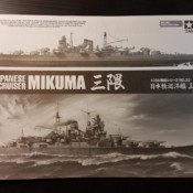 1/350 Japanese Light Cruiser Mikuma, Tamiya 78022 Unboxing