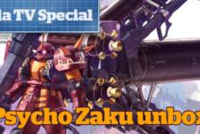 Gunpla TV Special – MG Psycho Zaku Ver.Ka Unboxing!