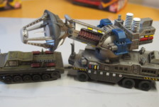 1/87 Type 66 Anti-Monster Maser Cannon by Wave – Part Two – Build