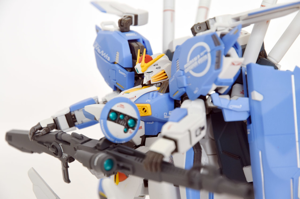 Metal Robot Damashii Ex-S Gundam by Bandai (Part 2: Review)