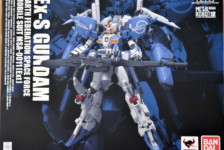 Metal Robot Damashii Ex-S Gundam by Bandai (Part 1: Unbox)