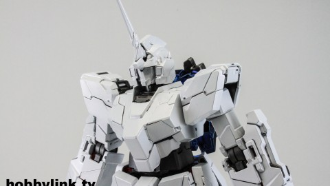 1-100 MG RX-0 Unicorn Gundam (Red or Green Frame Twin Frame Edition) Titanium Finish-13