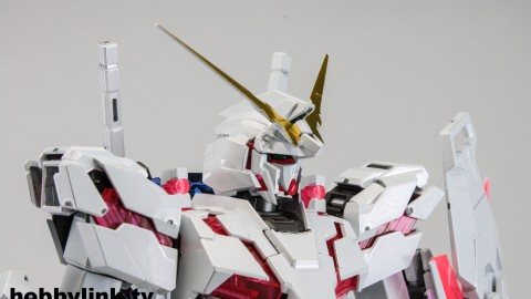 1-100 MG RX-0 Unicorn Gundam (Red or Green Frame Twin Frame Edition) Titanium Finish-3