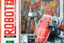 Robot Damashii RGM-79 GM ver. A.N.I.M.E. by Bandai (Part 1: Unbox)