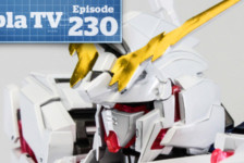 Gunpla TV – Episode 230 – MG Titanium Finish Unicorn Twinframe! Twin Guncannons!