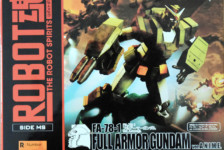 Robot Damashii FA-78-1 Full Armor Gundam ver. A.N.I.M.E. by Bandai (Part 1: Unbox)