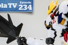 Gunpla TV – Episode 234 – 1/100 Lupus Rex and HG Reginlaze Julia