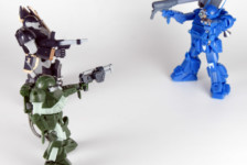 """1/48 Actic Gear VOTOMS AG-V18 AT Chronicles I """"Fire of Kummen"""" by Takara Tomy (Part 2: Review)"""