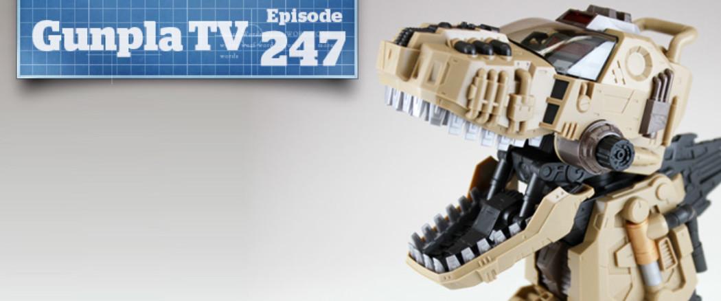 Gunpla TV – Episode 247 – MG Ver. Ka ZZ & Gojulas the Ogre!