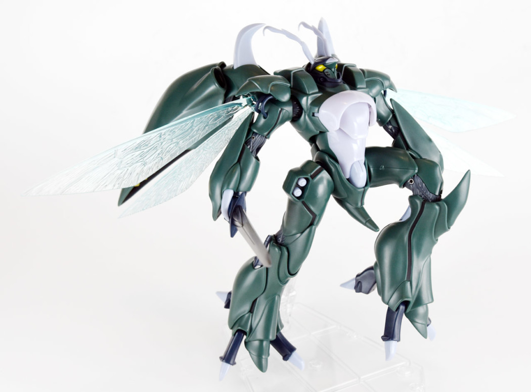 Robot Damashii Aura Battler Wryneck by Bandai (Part 2: Review)