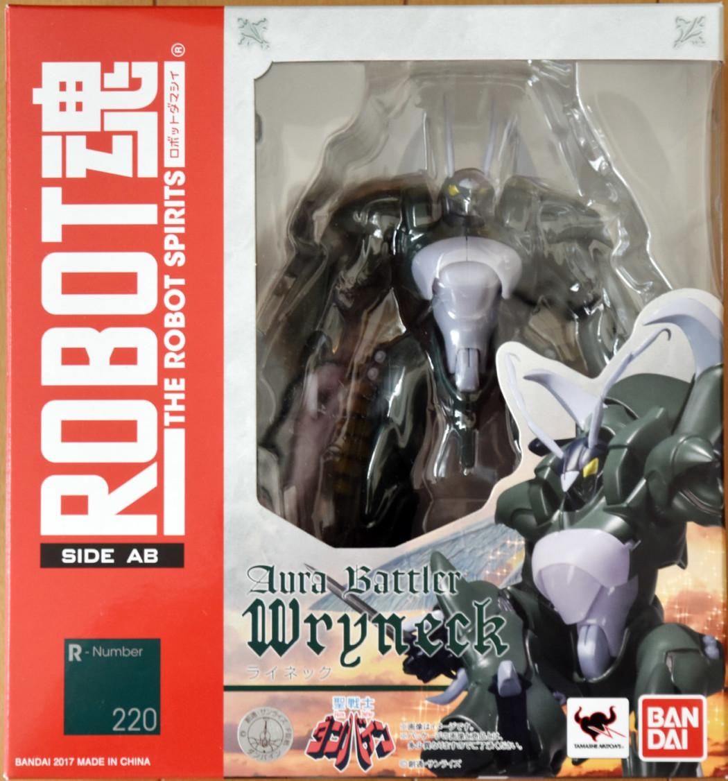 Robot Damashii Aura Battler Wryneck by Bandai (Part 1: Unbox)