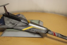 1/72 Ultra Hawk No.1 by Fujimi – Part 2 – Build