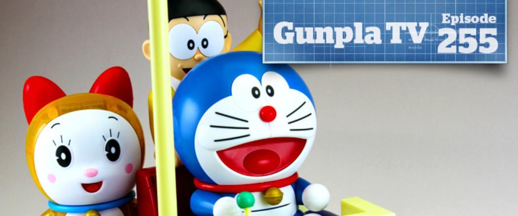 Gunpla TV – Episode 255 – Figure-rise Mechanics Doraemon & PG Exia!